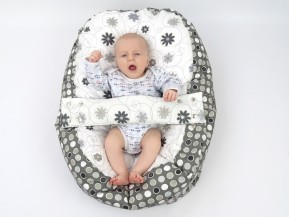 Vak pre bábätko, LÚKA ČIERNOBIELA,100% bavlna