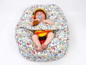 Vak pre bábätko Grafity, 100% bavlna