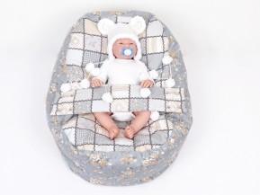 Vak pre bábätko PATCHWORK 100% bavlna