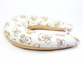 Dojčiaci vankúš Standard MACKO HNEDY, 100% bavlna